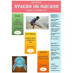 STAGE Squash Club de Lyon...